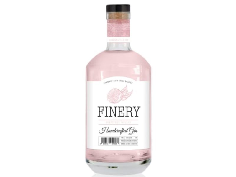 Finery Grapefruit Infused Gin 750ml