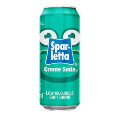 Sparletta Creme Soda Can 300ml
