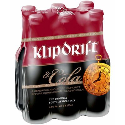 Klippies-&-Cola-275ml-6